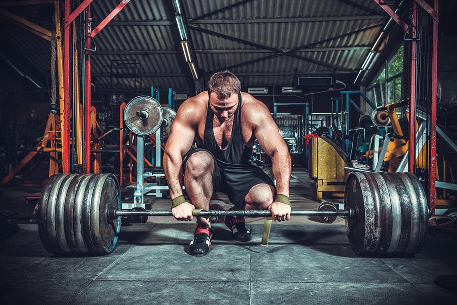 power-lifter on Anabolic Steroids