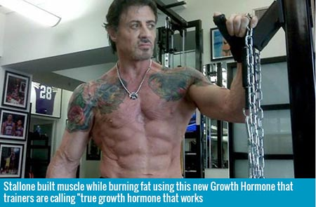 Stallone on Human Growth Hormone